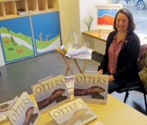 Reading Otters at the John Muir Trust Wildspace