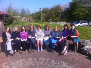 'Words and Wings' writing workshop at Waterston House